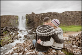 Oxararfoss Waterfall Thingvellir National Park Iceland E Session