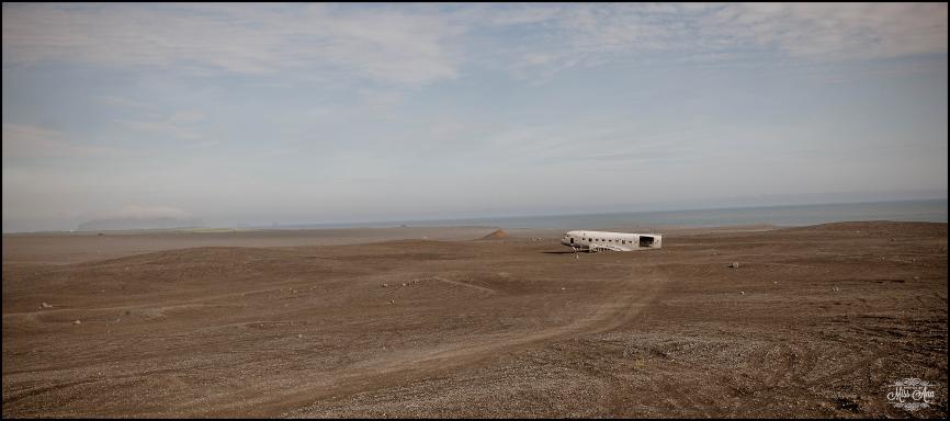 Iceland Crashed Airplane