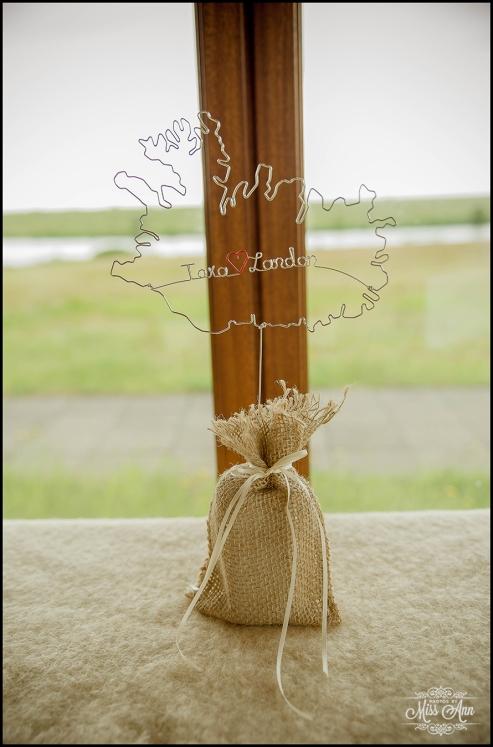 Iceland Wedding Centerpiece Ideas Hotel Ranga Wedding