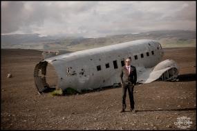 Iceland Wedding Photos Crashed Airplane-8
