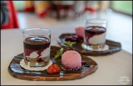 Iceland Wedding Reception Hotel Ranga Skyr Cake
