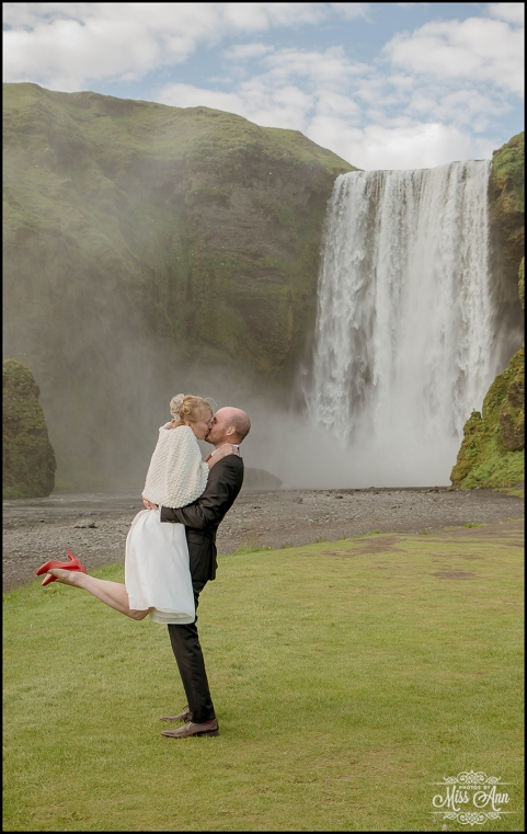 Romantic Iceland Wedding Photos by Miss Ann