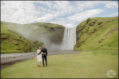 Skogafoss Waterfall Iceland Wedding Photographer