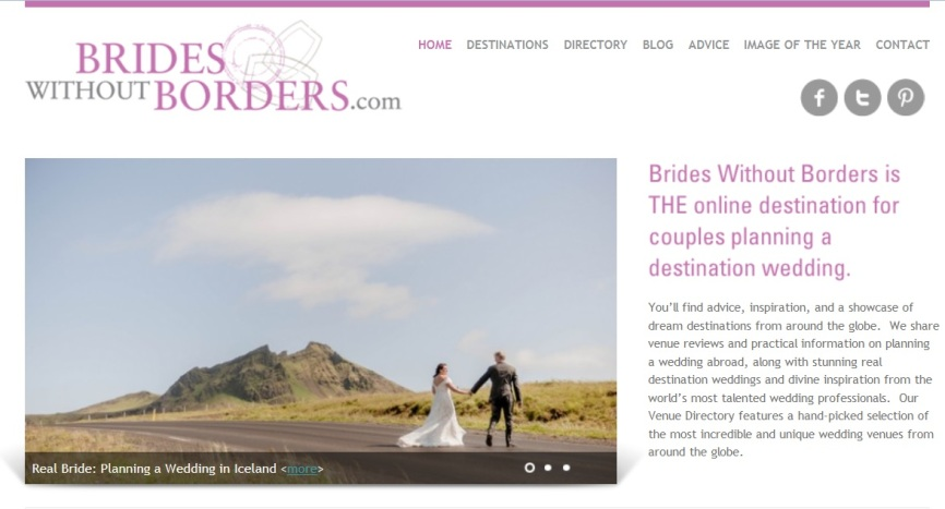 Iceland Wedding Photographer and Planner Featured on Brides without Borders