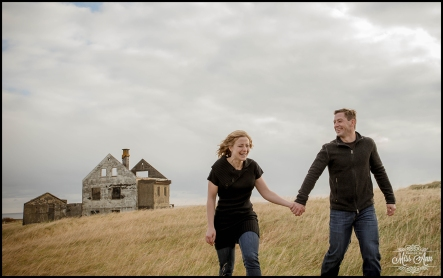 Fun Iceland Engagement Session by Photos by Miss Ann Snaefellsnes