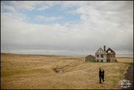Iceland Abanded House Pre Wedding Session Photos by Miss Ann