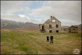 Iceland E-Session at Abandoned House in Snaefellsnes Peninsula