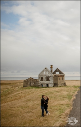 Iceland Pre-Wedding Photography Photos by Miss Ann Iceland Abandoned House