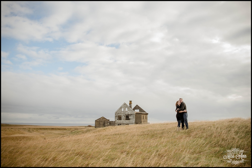 Iceland Pre Wedding Session at Abandoned Hous