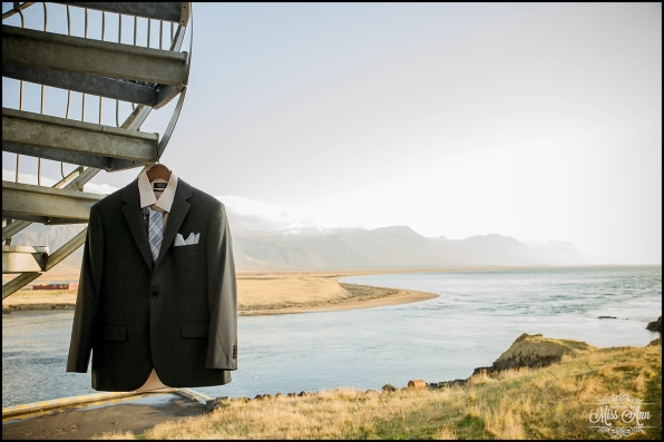 Iceland Wedding Attire Grooms Suit Iceland Wedding Photographer Photos by Miss Ann
