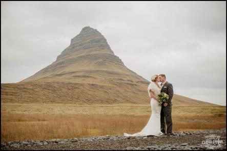 Iceland Wedding Kirkjufellsfoss Mountain-1