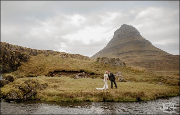 Iceland Wedding Kirkjufellsfoss Waterfall 6