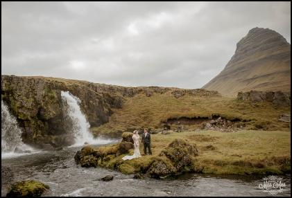 Iceland Wedding Kirkjufellsfoss Waterfall Photos by Miss Ann-10