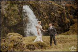 Iceland Wedding Kirkjufellsfoss Waterfall Photos by Miss Ann-9