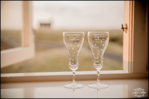 Iceland Wedding Photographer Hotel Budir Champagne Glasses