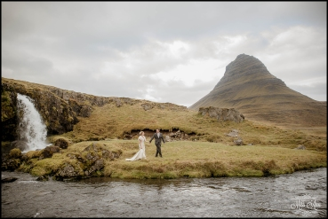 Iceland Wedding Photographer Kirkjufellsfoss