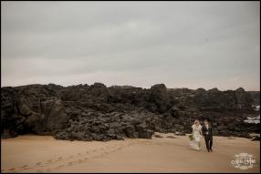 Iceland Wedding Photographer Skardsvik Beach