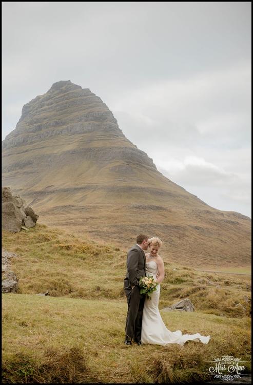 Iceland Wedding Photos Iceland Wedding Kirkjufellsfoss