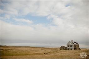 Snaefellsnes Peninsula Iceland Abandoned House