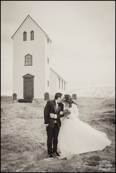 Iceland Wedding Ulfljotsvatn Church