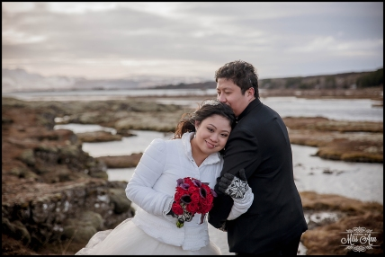 Iceland Winter Wedding Thingvellir