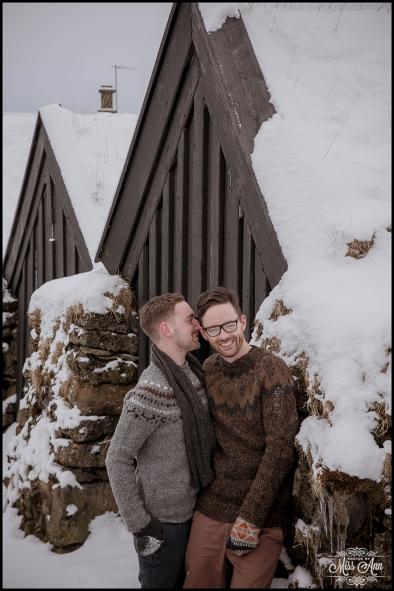 Dooken Wedding Iceland Engagement Session