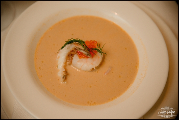 Iceland 5 Course Wedding Meal