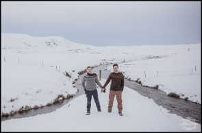 Iceland Pre Wedding Session Photos by Miss Ann