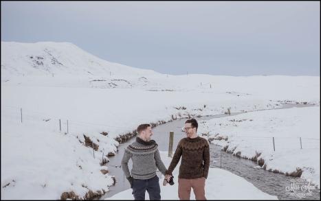 Iceland Same Sex Engagement Session