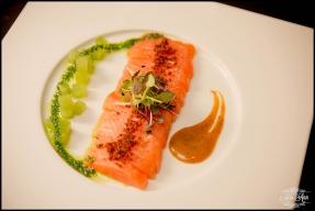 Iceland Wedding ION Luxury Adventure Hotel Meal