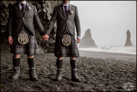 Iceland Wedding Photographer Reynisfjara Beach