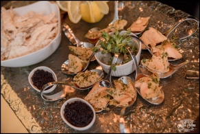 Iceland Wedding Reception Appetizers