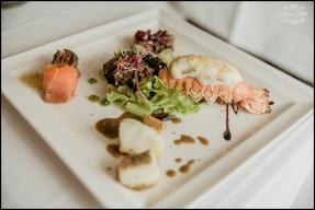 Iceland Wedding Reception Meal Hotel Borg