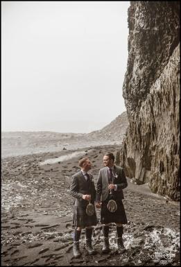 Iceland Wedding Reynisfjara Black Sand Beach