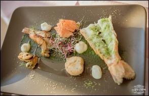 Iceland Wedding Seafood Meal