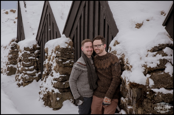 Paul and Marc Engagement Session Iceland