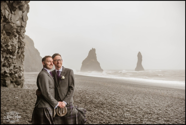 Reynisfjara Iceland Wedding Photographer