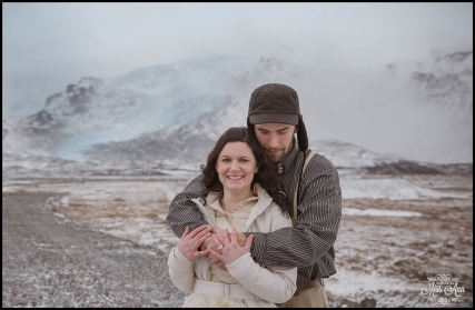 Jokulsarlon Glacier Lagoon Iceland Elopement
