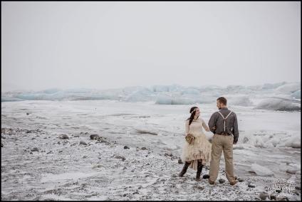 Jokulsarlon Glacier Lagoon Iceland Wedding