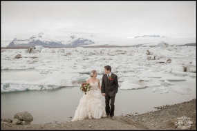 Glacier Wedding Iceland Photos by Miss Ann