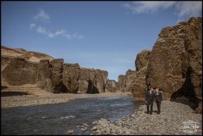 Iceland Post Wedding Session Fjadrargljufur