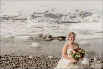 Jokulsarlon Glacier Lagoon Wedding - 1