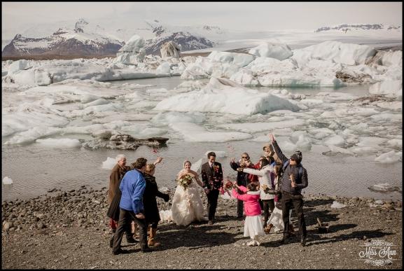 Jokulsarlon Glacier Lagoon Wedding - 2