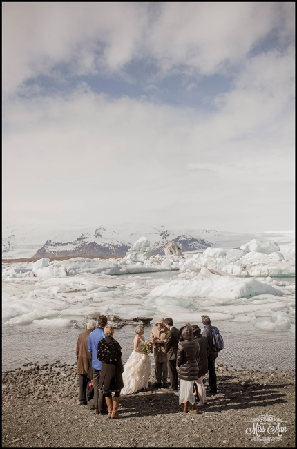Jokulsarlon Glacier Lagoon Wedding - 4