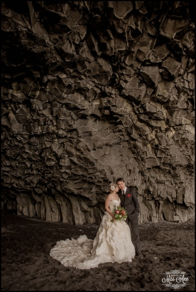 Reynisfjara Iceland Wedding