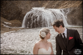Waterfall Wedding Day Iceland