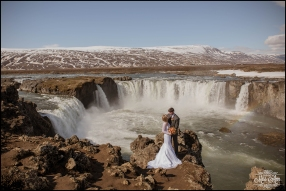 Godafoss Waterfall Iceland Wedding Photographer-10