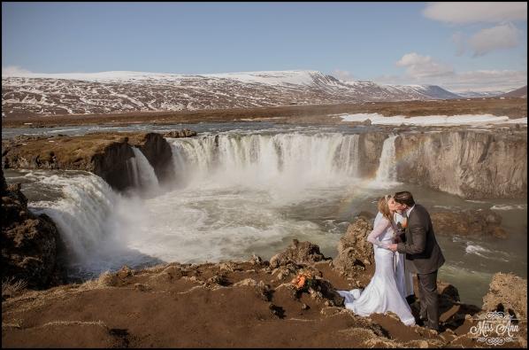 Godafoss Waterfall Iceland Wedding Photographer-7