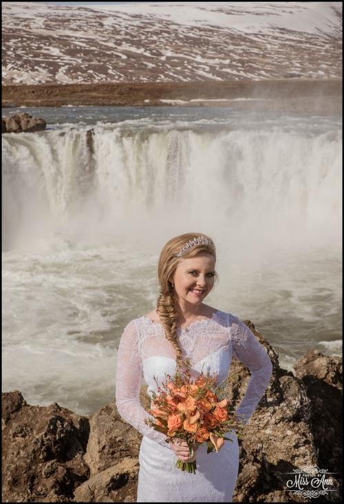 Godafoss Waterfall Iceland Wedding Photographer-9