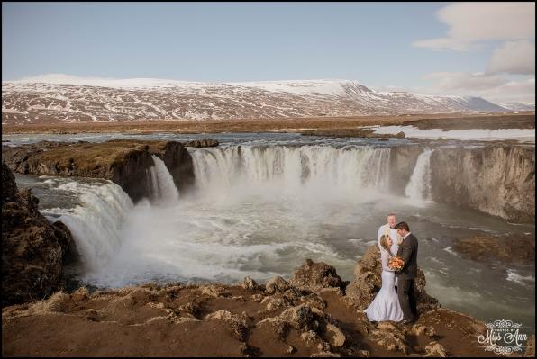 Godafoss Waterfall Wedding Iceland Wedding Photographer-1
